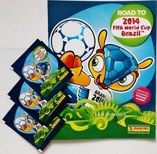 PANINI 2014 ROAD TO FIFA WORLD CUP BRAZIL OFFICIAL STICKER ALBUM 15 STICKERS NEW