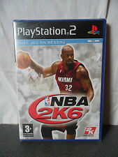 NBA 2K6 Pal neuf sous blister pour Sony PS 2 Playstation 2