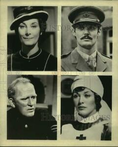 """Press Photo Actors and Actresses in composite of """"Upstairs, Downstairs"""" Show"""