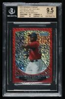 2013 Bowman Chrome Cream Of The Crop Red Refractors #BRS3 Jackie Bradley 4/5