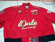 """DALE EARNHART JR RED CHILD RACING JACKET SZ 2XL """"CHASE AUTHENTICS"""" BY J H DESIGN"""
