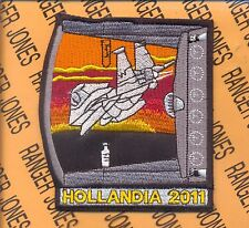 USAF Air Force 80th Fighter Squadron FS HOLLANDIA 2011 patch