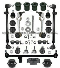 MERCEDES W123 TRACK GUIDE CONTROL ARM BALL JOINT ENGINE MOUNT SUSPENSION Kit 25