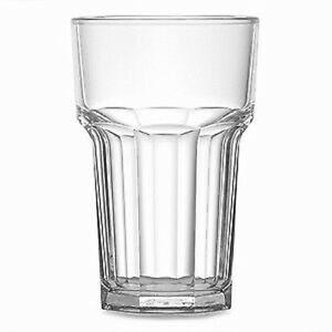 Elite Remedy Polycarbonate 1/2 Pint Tumbler CE 10oz x 4 - Half Pint Glasses