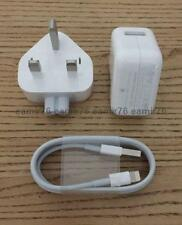 Genuine Apple 10W Mains Charger Official iPad iPhone iPod + USB Cable.