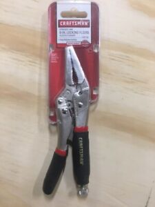 "NEW CRAFTSMAN 6""  STRAIGHT  JAW  LOCKING PLIERS  # 945716"