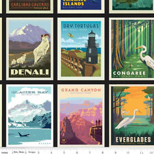 National Parks Posters Black by Anderson Design Group for Riley Blake, 20