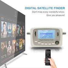 SF-500 Digital Satellite Finder Signal Meter Sat Dish Finder With DVB-S DVB-S2