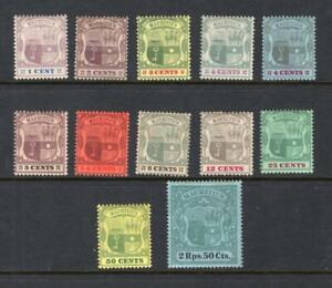 Mauritius 1895-1904 Partial Set - OG MH -SC# Pls See Description - No Reserve!