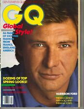 Harrison Ford Gq Revista 4/82 Man Behind Han Solo Indiana Jones
