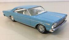 1966 Ford Galaxy 500 Dealer Promo Model Blue 7 Liter 1:25 Clean No Damage