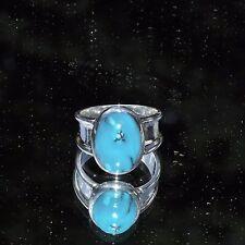 Echtschmuck aus Sterlingsilber mit Türkis-Perlen und Cabochon-Ringe