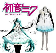 Vocaloid Camellia Hatsune Miku Dress Anime Halloween Cosplay Costume Custom-made