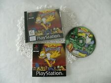 PS1 playstation Simpsons wrestling PAL GUC c.2001