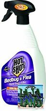 Hot Shot Bedbug and Flea Home Insect Killer Ready-to-Use Spray 32-Ounce 32 oz.