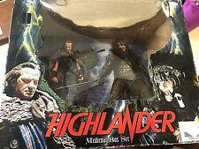 NECA HIGHLANDER MEDIEVAL BOX SET!!!!!