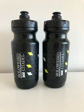 2 Specialized Purist Holowesko Citadel Cycling Team Water Bottle BPA Free Black