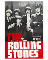 Rolling Stones - 1965 Promotional Poster, 8x10 Photo
