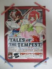 Tales Of Tempest Official Promo Poster VERY RARE ABSOLUTELY STUNNING SHOW PIECE!