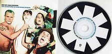 RED HOT CHILI PEPPERS CD single PROMO made in UK 1 TRACK The adventures of rain