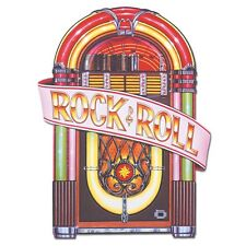 1950's Juke Box Cutout 3ft - Rock and Roll Music Party Decorations