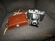 Vintage AGFA Isolette Germany 120mm film camera w/case.