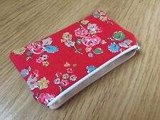 Cath Kidston Red Woodland Rose Fabric - Handmade Coin Purse