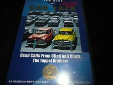 The Best & Second Best of CAR TALK  Audio cd