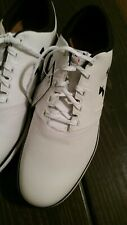 Under Armour Ua Performance Sl Leather Spikeless Golf Shoes Mens 9.5 D