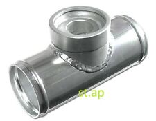 """Turbo Bov Blow Off Valve Pipe 2.5"""" Inch Flange Adapter Aluminum Pipe Piping"""