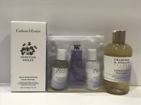 Crabtree Evelyn Venetian Violet shower gel OR Travel Set OR Hand Therapy