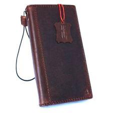 Genuine leather Case Samsung Galaxy S9 Plus Slim holder book wallet handmade Art