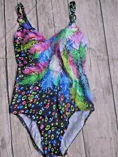 Sunflair Badeanzug Damen blau gemustert (574) NEU