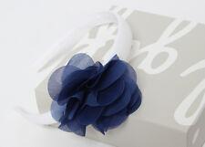 IL GUFO Haarreif mit 3D-Blume in blau NEU %SALE%
