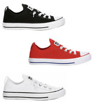 New CONVERSE WOMENS SHORELINE KNIT Sneakers Shoes white red black 6 7 8 9 10 11