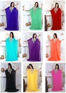Dubai Style Women Kaftan Caftan Farasha Abaya Maxi Dress Kimono Beach Cover Up D