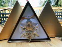 Swarovski Crystal Festive Snowflake Ornament, Gold, Annual Edition 2020 5489192