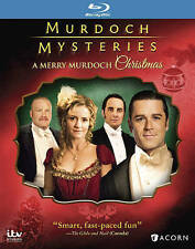 A Murdoch Mysteries Christmas [Blu-ray] New DVD! Ships Fast!