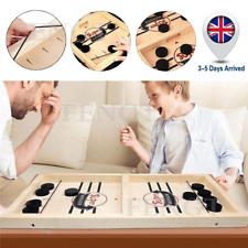 Wooden Hockey Game Table Game Family Fun Game Parent-child Interactive Toy