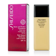 Shiseido Sheer & Perfect Foundation SPF 15 - #WB60 Natural Deep Warm Beige 30ml