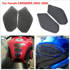 Motorcycle Tank Traction Pad Side Fuel Gas Grip Decal For Honda CBR600RR 03-06