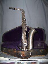 Vintage Alto Saxaphone-Peerless M.J. Kalashen New York