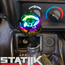 NEO CHROME 12X1.25 ROUND SHIFT KNOB MITSUBISHI ALL MODEL 5 6 SPEED