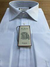 Thomas Pink 2-Fold 100's  Twill White Shirt, 17.5 / 44, BNWT, RRP:£115!
