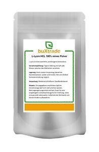 L-Lysin Pulver   Aminosäure   Lysin HCL   Lysine   100% rein