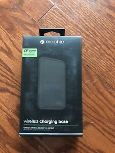 Mophie Wireless Charging Base Pad Charge Force Qi Charger (FREE SHIPPING)