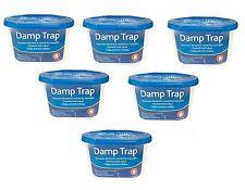 6 x Dehumidifier Interior Damp Moisture Mould Mildew Remover Trap Home Caravan