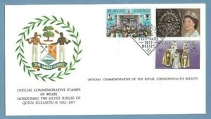 1977 BELIZE ROYAL COMMONWEALTH SOCIETY FDC