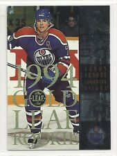 1994-95 Leaf Hockey - Gold Leaf Rookie - #2 - Jason Arnott - Edmonton Oilers