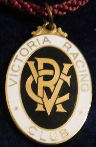 1963 ~ 64 VICTORIA RACING CLUB MEMBERS FOB / BADGE - STOKES - PERFECT